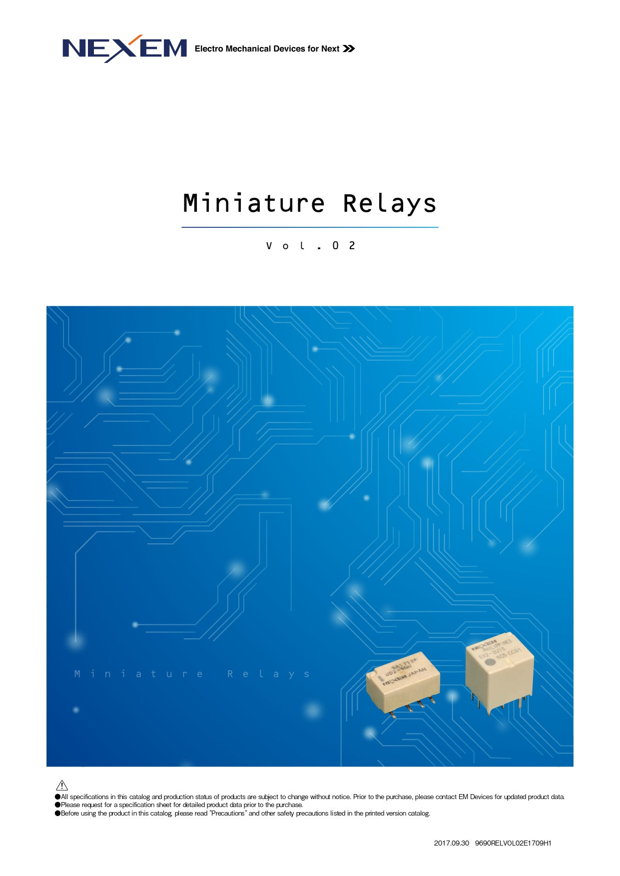 Miniature Relay pdf