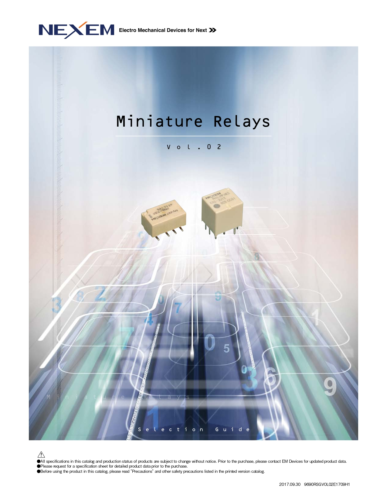 Miniature Relay Selection Guide pdfimg